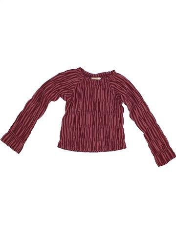 Blouse manches longues fille SERGENT MAJOR violet 6 ans hiver #1369693_1
