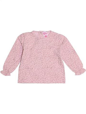 T-shirt manches longues fille P'TITES CANAILLES violet 2 ans hiver #1369751_1