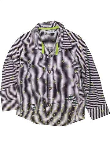 Chemise manches longues garçon MARKS & SPENCER gris 3 ans hiver #1369823_1
