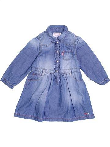 Robe fille LEVI'S bleu 3 ans hiver #1369936_1