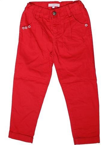 Pantalón niña JASPER CONRAN rojo 7 años verano #1369965_1