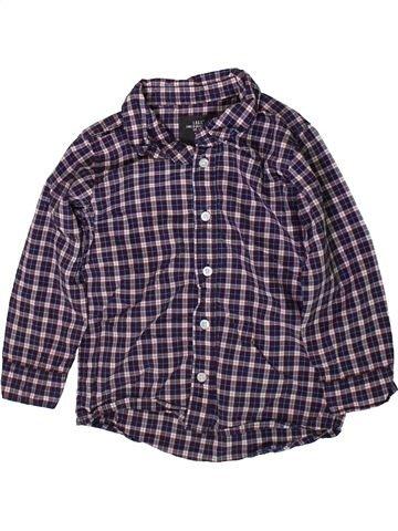 Chemise manches longues garçon H&M gris 2 ans hiver #1369973_1