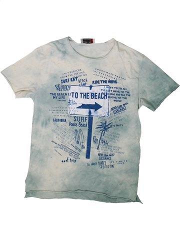 T-shirt manches courtes garçon ZARA gris 7 ans été #1369992_1