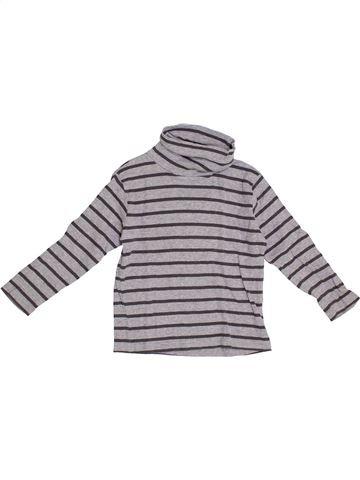 T-shirt col roulé garçon KIABI gris 4 ans hiver #1370079_1