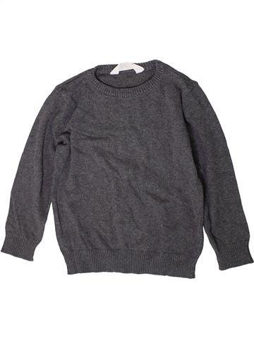 Pull garçon H&M gris 4 ans hiver #1370244_1