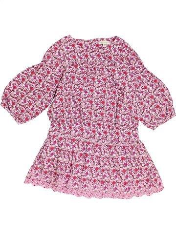 Robe fille VERTBAUDET rose 4 ans hiver #1370252_1