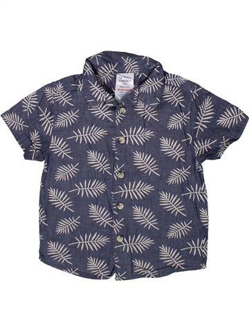 Chemise manches courtes garçon URBAN RASCALS bleu 2 ans été #1370312_1