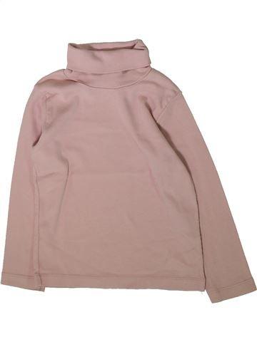 Camiseta de cuello alto niña PETIT BATEAU rosa 4 años invierno #1370396_1