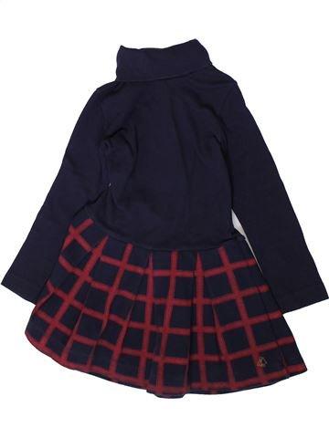 Vestido niña PETIT BATEAU negro 4 años invierno #1370420_1