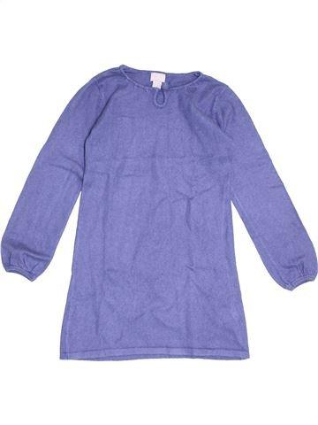 Vestido niña CYRILLUS azul 8 años invierno #1370453_1