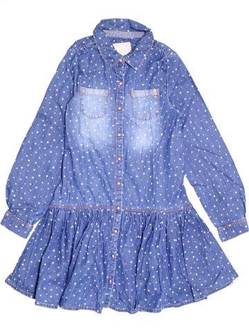 Robe fille LISA ROSE bleu 10 ans hiver #1370466_1