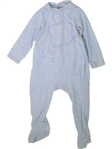 Pijama de 1 pieza niño MARÈSE azul 2 años invierno #1370486_1