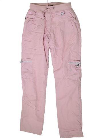 Pantalon fille SERGENT MAJOR rose 10 ans hiver #1370653_1