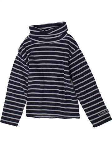 T-shirt col roulé garçon OKAIDI gris 3 ans hiver #1370663_1