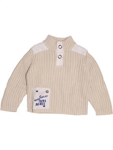 jersey niño 3 SUISSES beige 2 años invierno #1370720_1