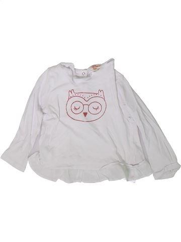 Camiseta de manga larga niña DPAM blanco 2 años invierno #1370755_1