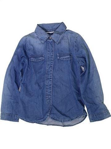 Blusa de manga larga niña LISA ROSE azul 5 años invierno #1370759_1