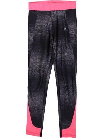 Sportswear fille DÉCATHLON noir 10 ans hiver #1370813_1