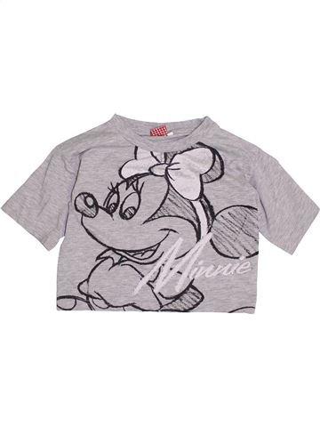 T-shirt manches courtes fille DISNEY gris 11 ans été #1370957_1