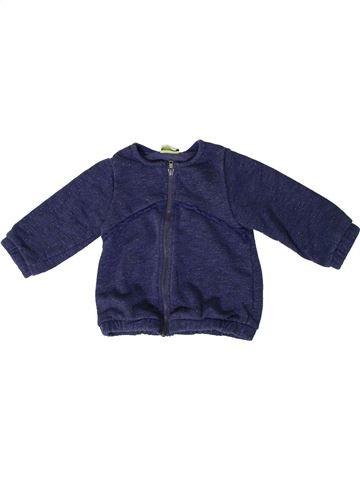 Sudadera niña TAPE À L'OEIL azul 12 meses invierno #1371025_1