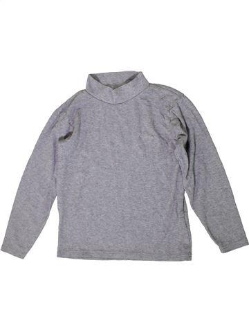 T-shirt col roulé unisexe ORCHESTRA gris 10 ans hiver #1371048_1