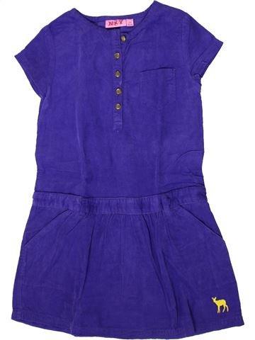 Robe fille KIABI violet 6 ans hiver #1371059_1