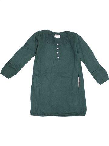 Robe fille BELLEROSE vert 6 ans hiver #1371105_1