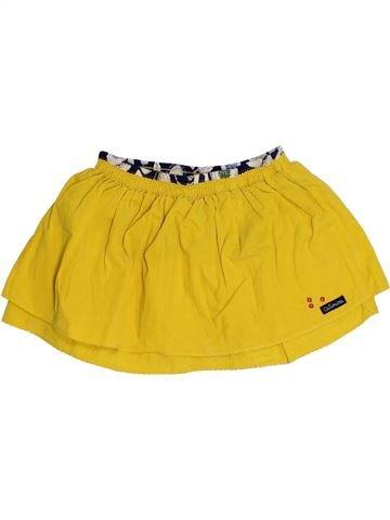 Falda niña CATIMINI amarillo 3 años invierno #1371124_1