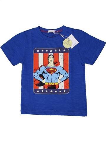 T-shirt manches courtes garçon MANGO bleu 5 ans été #1371154_1
