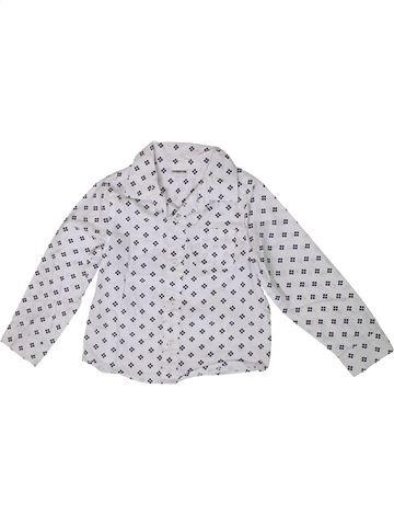 Chemise manches longues garçon LADYBIRD blanc 5 ans hiver #1371328_1