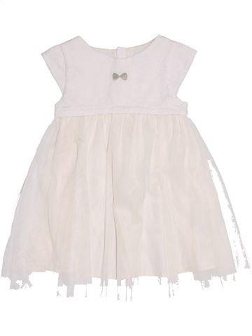 Robe fille OKAIDI blanc 2 ans été #1371381_1
