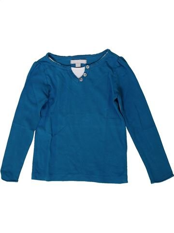 T-shirt manches longues garçon 3 SUISSES bleu 3 ans hiver #1371446_1