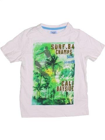 T-shirt manches courtes garçon F&F blanc 5 ans été #1371647_1