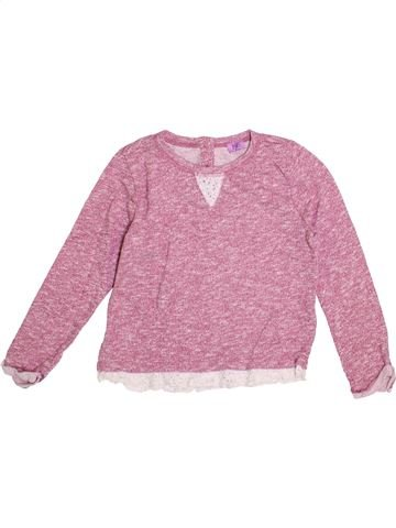 Pull fille F&F rose 6 ans hiver #1371683_1