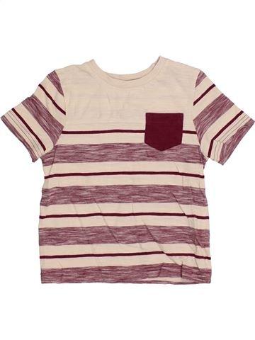 T-shirt manches courtes garçon NUTMEG violet 3 ans été #1371689_1