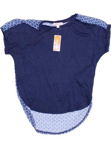 Blusa de manga corta niña DEBENHAMS azul 8 años verano #1371699_1