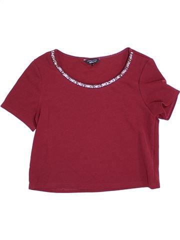 T-shirt manches courtes fille NEW LOOK violet 14 ans été #1371726_1