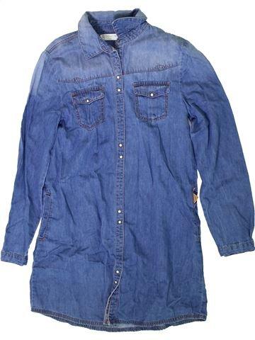 Vestido niña ZARA azul 12 años invierno #1371931_1