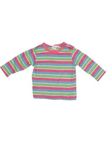 T-shirt manches longues fille DEBENHAMS gris 3 mois hiver #1371944_1