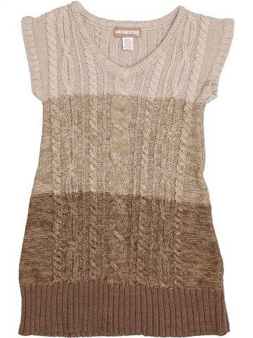 Vestido niña ORCHESTRA marrón 8 años invierno #1372568_1