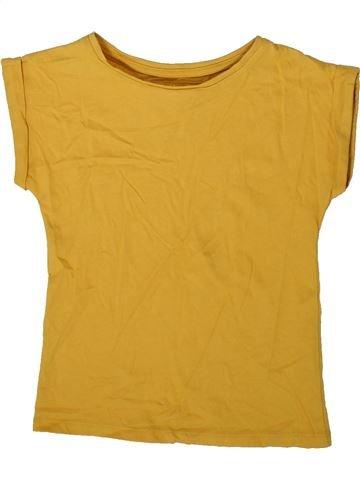 Camiseta de manga corta niña TU amarillo 5 años verano #1372587_1