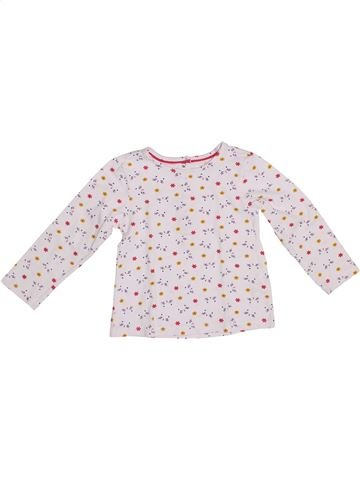Camiseta de manga larga niña ORCHESTRA blanco 2 años invierno #1372645_1