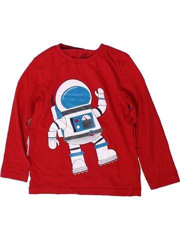Camiseta de manga larga niño TU rojo 3 años invierno #1372670_1