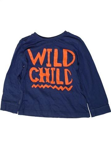 Camiseta de manga larga niño F&F azul 5 años invierno #1372691_1