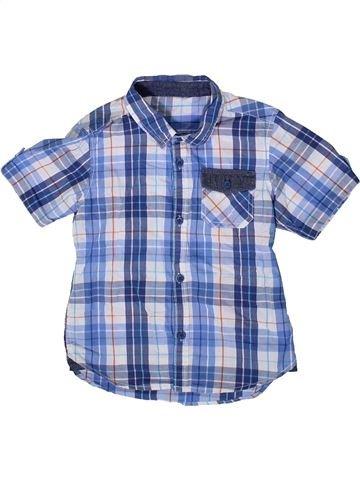 Chemise manches courtes garçon DUNNES STORES bleu 4 ans été #1372818_1