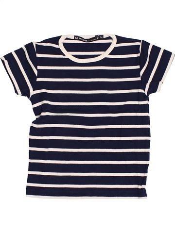 T-shirt manches courtes garçon LE PHARE DE LA BALEINE bleu 4 ans été #1372878_1