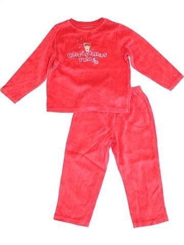 Pijama de 2 piezas niño VERTBAUDET rosa 4 años invierno #1372885_1