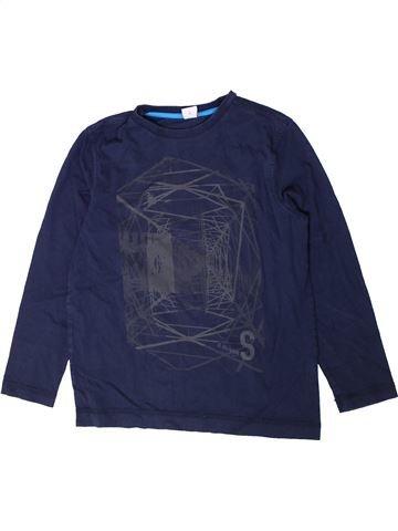T-shirt manches longues garçon S.OLIVER bleu 10 ans hiver #1372915_1