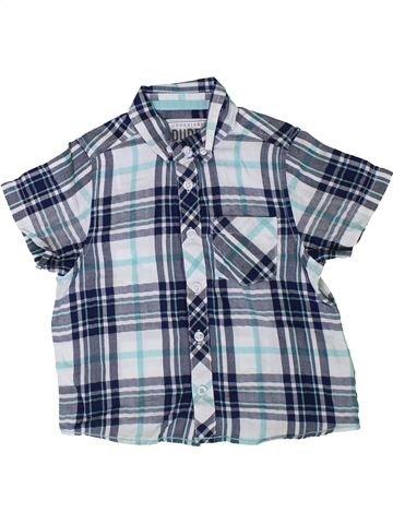 Chemise manches courtes garçon DUDES bleu 3 ans été #1372941_1