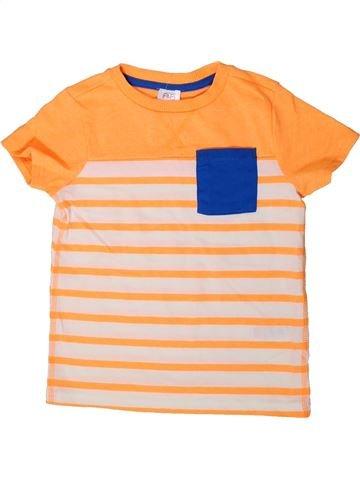 Camiseta de manga corta niño F&F beige 4 años verano #1373308_1